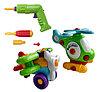 """Конструктор Build"""" and """"Play 2 в 1. аэроплан и вертолет + инструменты"""