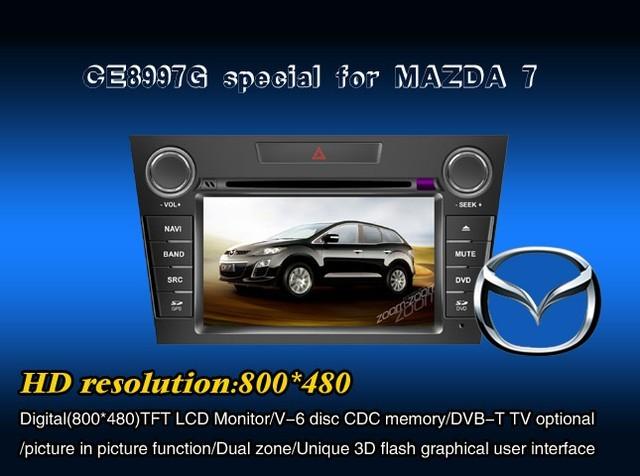 Штатное головное устройство Mazda 7 «WINCA»