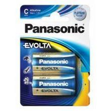 Panasonic LR14EGE/2BP батарейка щелочная Evolta тип C