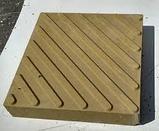Диагональная тактильная плитка, фото 2