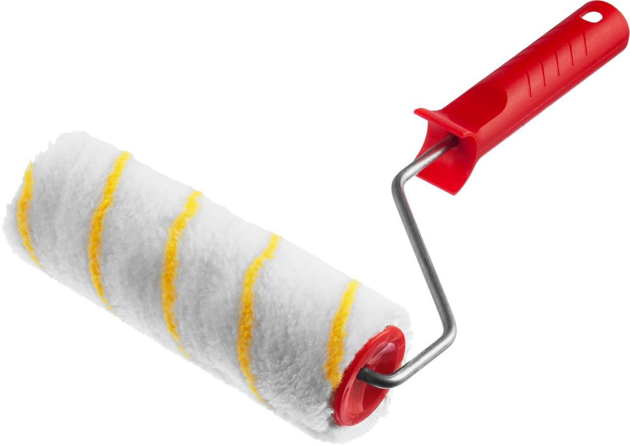 (03716-18) Валик малярный POLYTEX, 180 мм, d=40 мм, ворс 12 мм, ручка d=6 мм, MIRAX