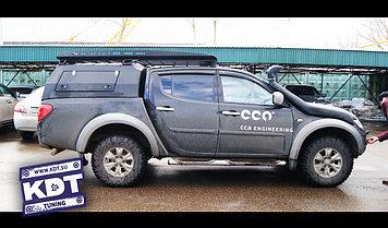 """Кунг экспедиционный """"Люкс"""" 3-дверный II поколения - Mitsubishi L200 Triton"""