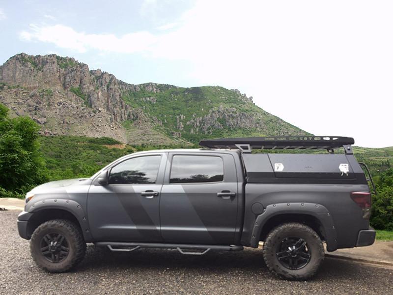 Багажник алюминиевый для кунга - Toyota Tundra