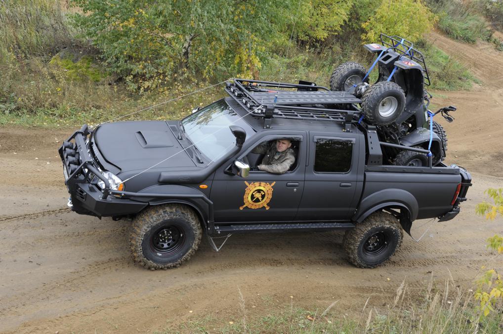 Багажник экспедиционный алюминиевый - Nissan NP-300