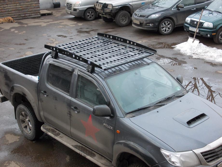 Багажник экспедиционный - Toyota Hilux