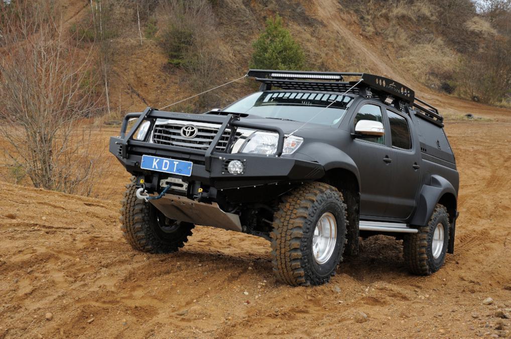 Багажник экспедиционный - Toyota Hilux Arctic Trucks