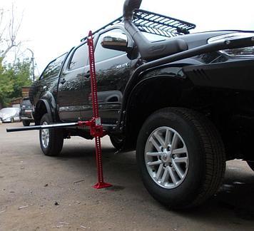 Пороги силовые алюминиевые II поколения - Toyota HILUX