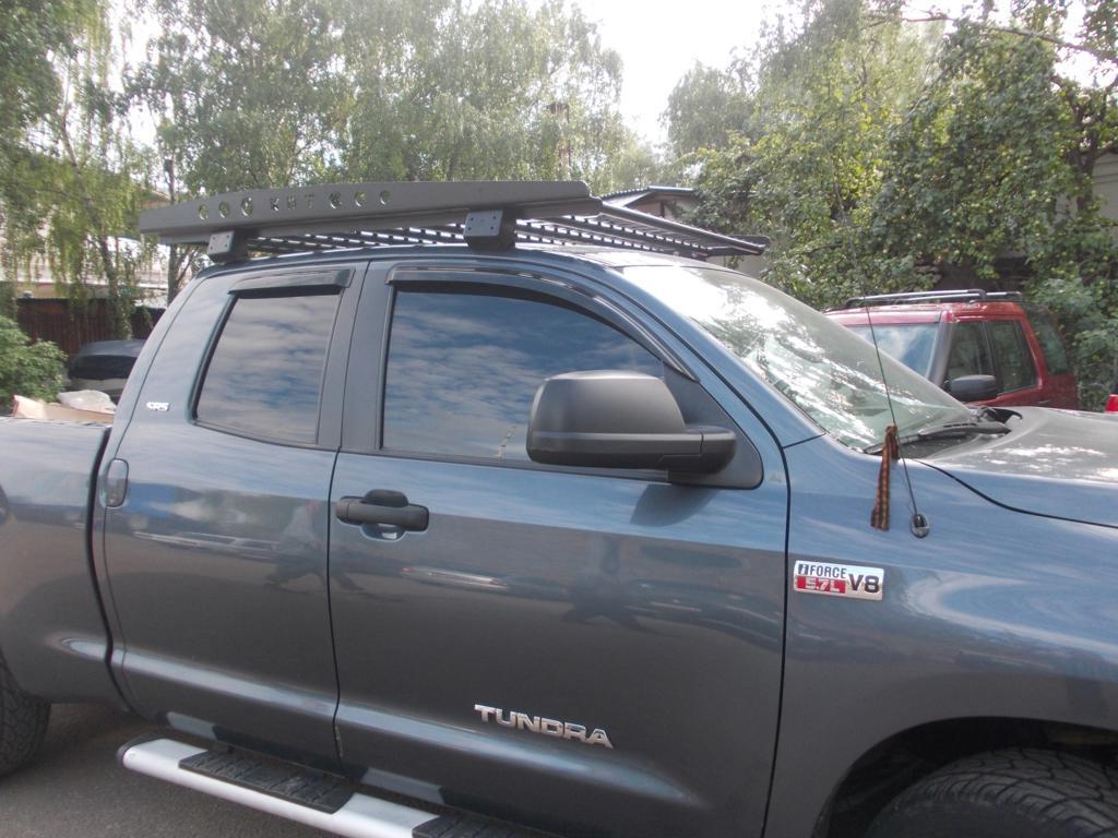 Багажник экспедиционный алюминиевый - Toyota TUNDRA