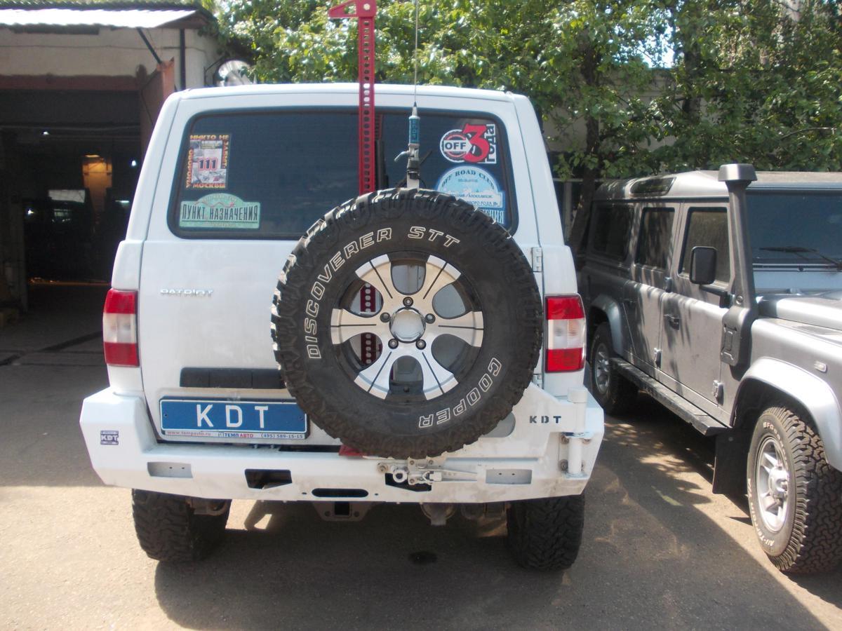 Калитка крепления запасного колеса II поколения - УАЗ Патриот