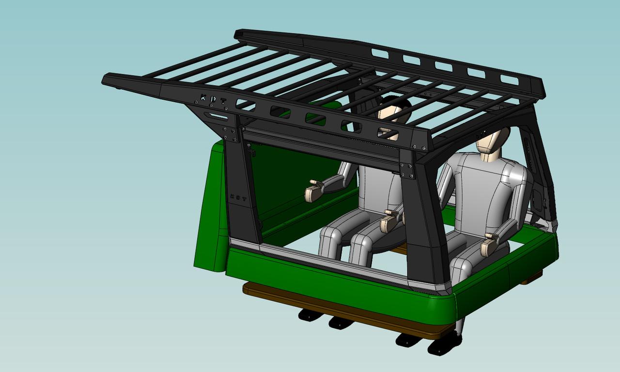 Каркас грузовой многофункциональный - УАЗ Патриот (комплектация 3)