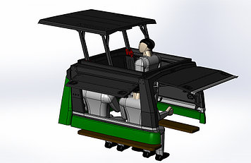 Каркас грузовой многофункциональный - УАЗ Патриот (комплектация 7)