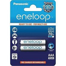 Panasonic BK-4MCCE/2BE аккумуляторная батарея eneloop AAA 750 mAh / 2B