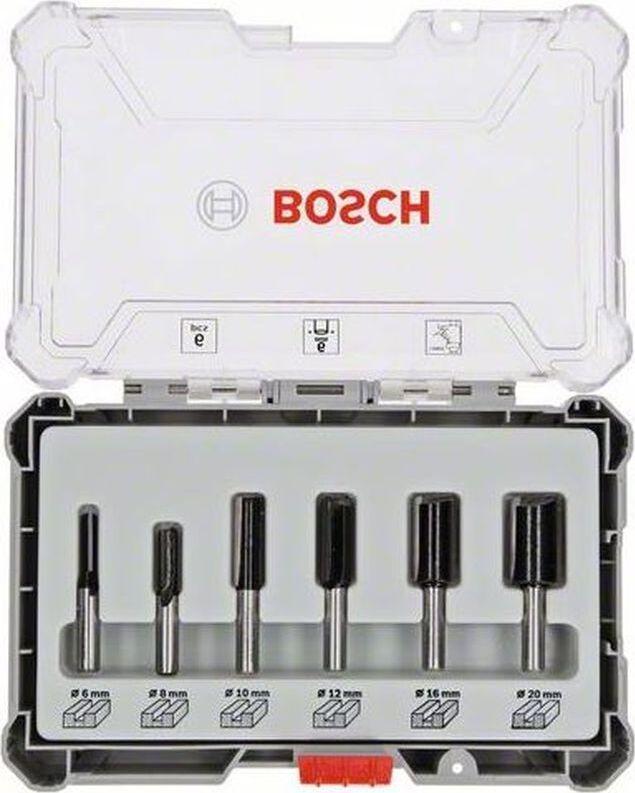 (2607017466) Набор пазовых фрез Bosch 8мм. 6шт.