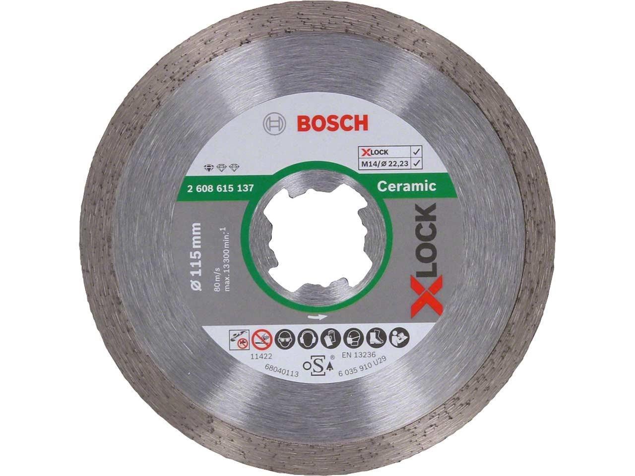 (2608615138) АЛМАЗНЫЕ ОТРЕЗНЫЕ ДИСКИ Bosch X-Lock Standard