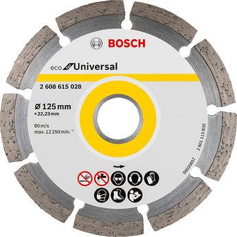 (2608615028) Алмазный диск Bosch ECO Universal 125-22,23