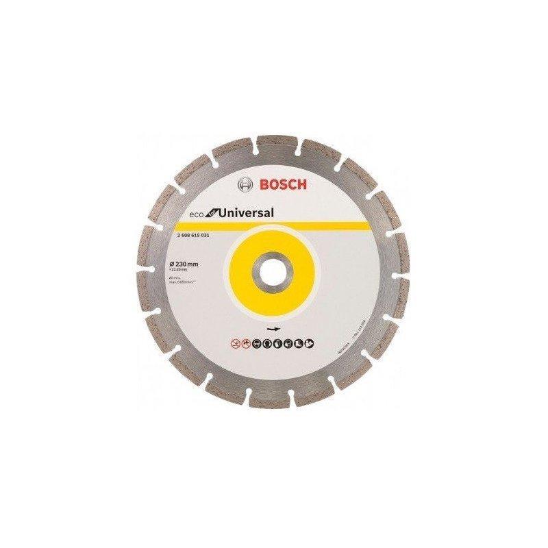 (2608615031) Алмазный диск Bosch ECO Universal 230-22,23