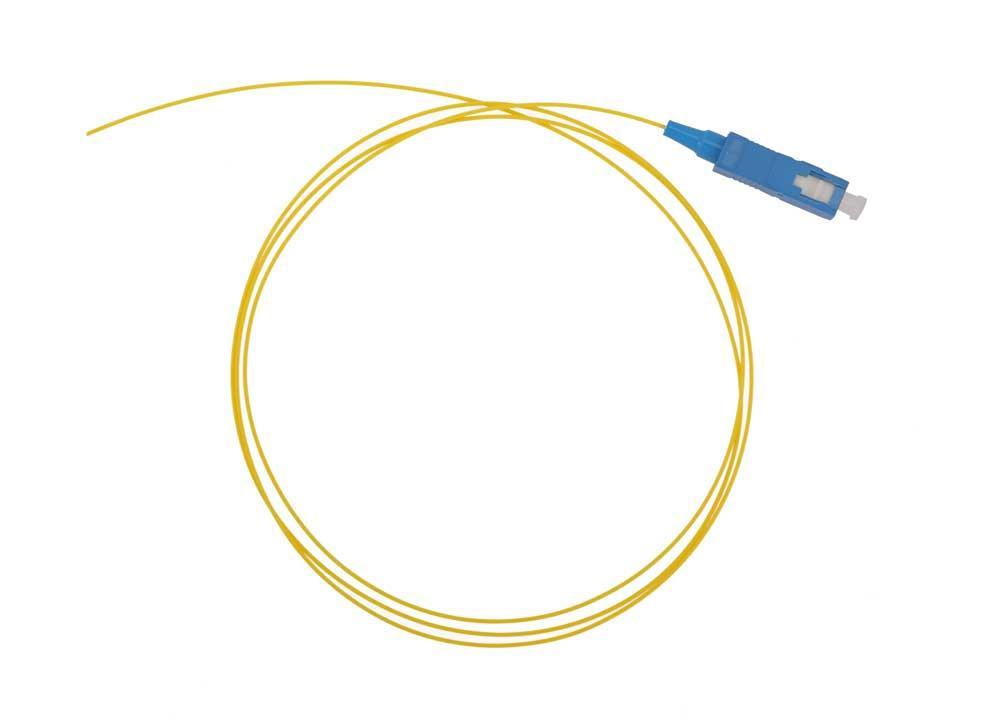 Оптический шнур (пигтейл) SC/UPC одномодовый 1,5 метра 0,9мм
