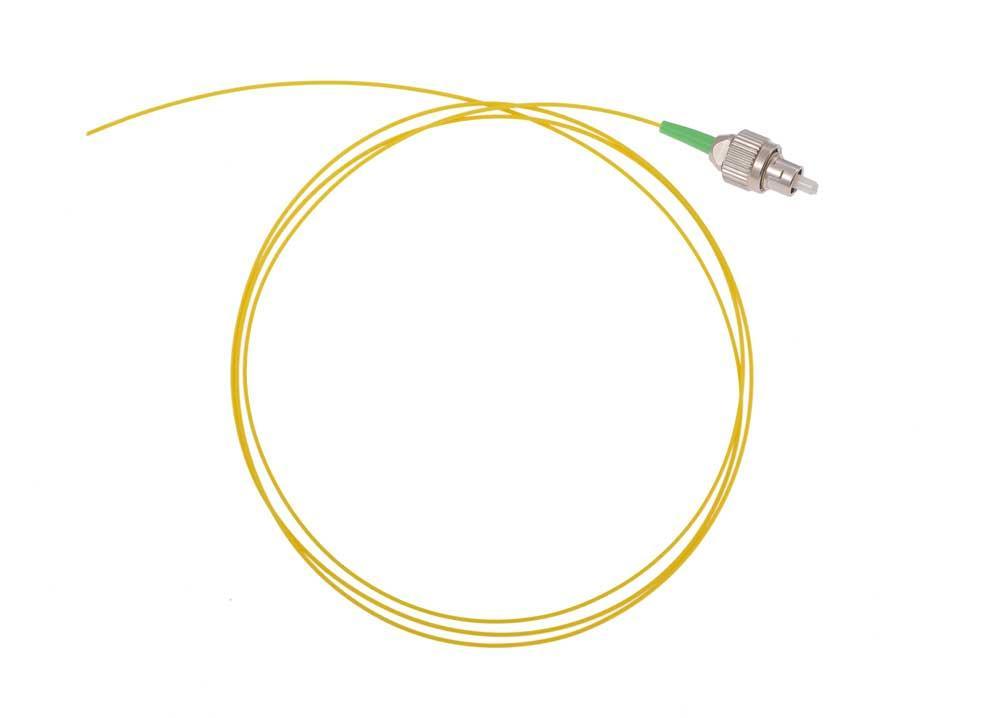 Оптический шнур (пигтейл) FC/APC одномодовый 1,5 метра 0,9мм