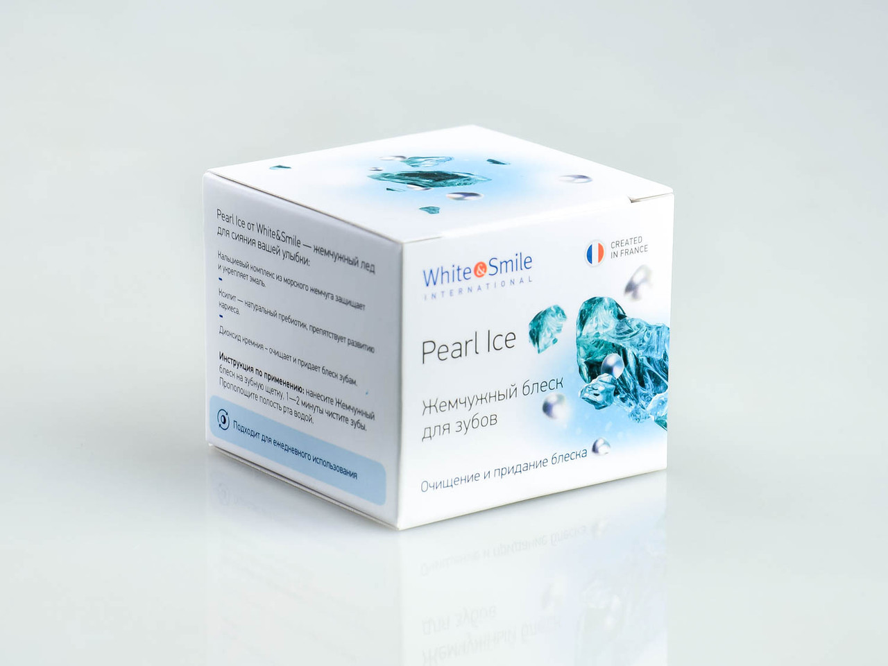 Жемчужный блеск для зубов Pearl Ice от White&Smile