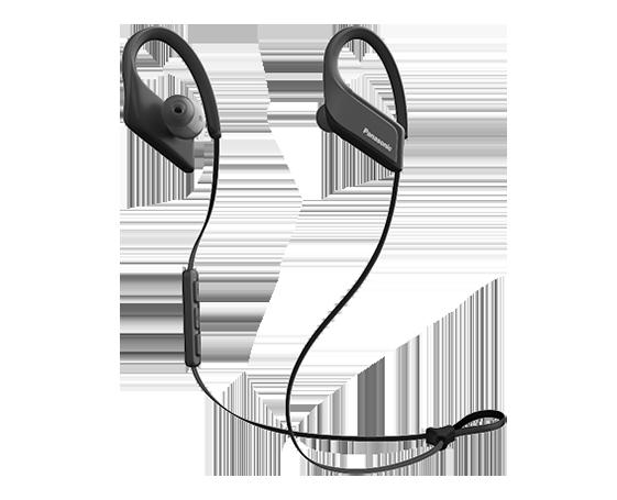 Panasonic RP-BTS35GC-K Спортивные Bluetooth наушники