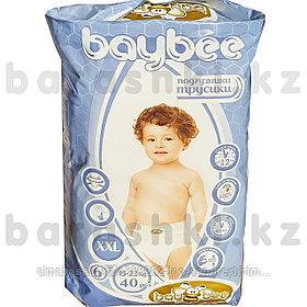 Подгузники-трусики Baybee  XXL-6(40 шт)