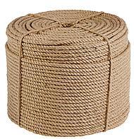 Веревка-джутовая Д-8 8мм*100м