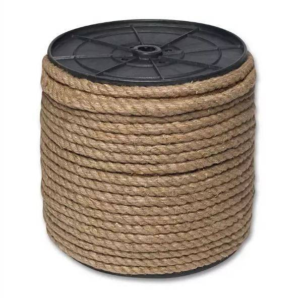 Веревка-джутовая Д-10 10мм*100м