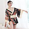 """Халат - кимоно """"Гейша"""", размер 42 (s), цвет чёрный, фото 4"""