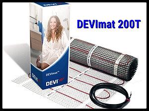 Двухжильный нагревательный мат DEVImat 200T -  0,5м х 12,2м