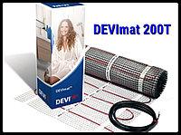Двухжильный нагревательный мат DEVImat 200T - 0,5м х 15,6м