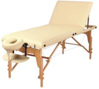 3-х секционный деревянный складывающийся массажный стол