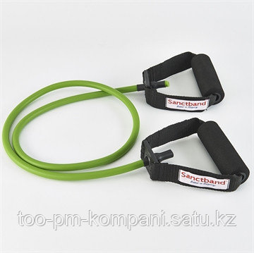 Эспандер трубка с ручками (зеленая-средняя)