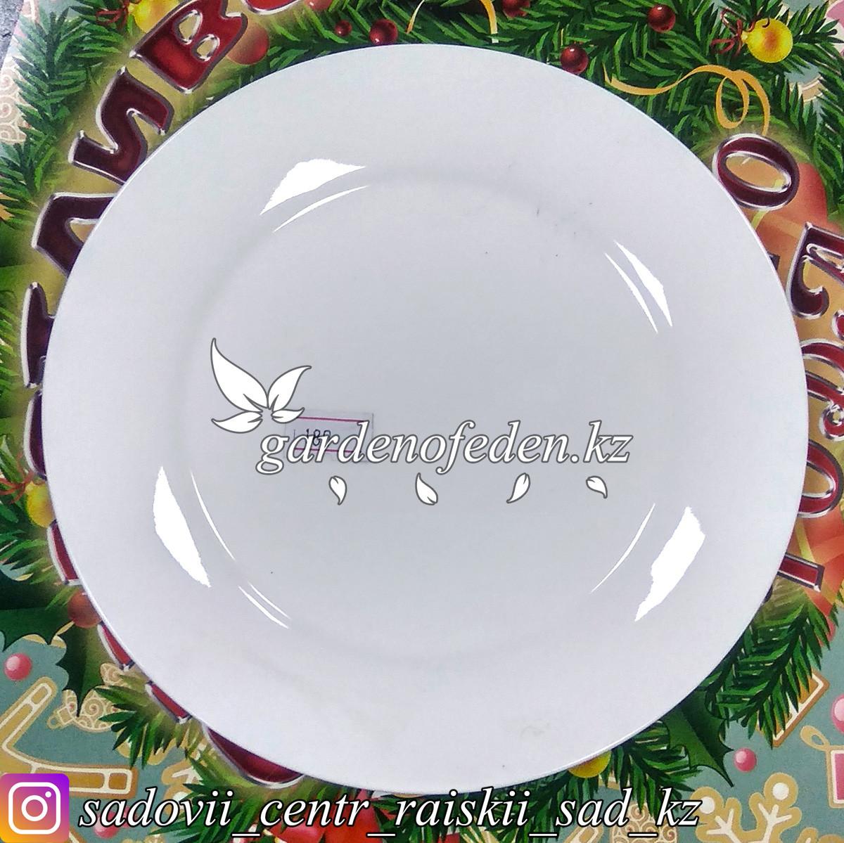 Тарелка десертная, малая. Цвет: Белый. Материал: Керамика.