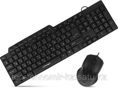Клавиатура+мышь Crown CMMK-520B