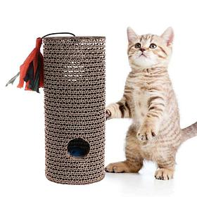 Когтеточки, лежанки, домики для кошек