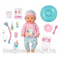 Кукла Бэби Борн интерактивная 43 см Чистим зубки Baby Born