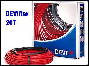 Двухжильный нагревательный кабель DEVIflex 20T - 56м