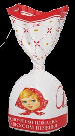 Конфеты Коммунарка Любимая Алёнка молочная помадка со вкусом печенья