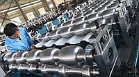 Линия производства модульной металлочерепицы