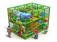 Детский игровой лабиринт 3-х этажный Дубовый парк