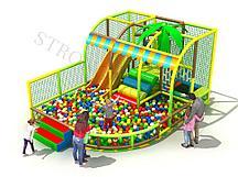 Детский игровой лабиринт Полянка
