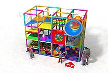 Детский игровой лабиринт 3-х этажный Планетарий