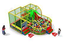 Детский игровой лабиринт Веселье