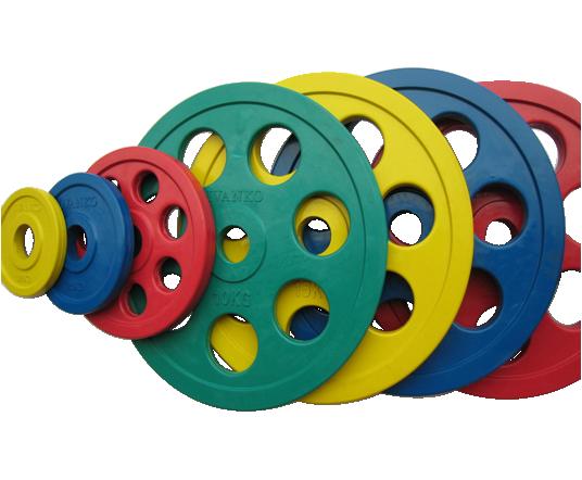 Диск олимпийский Johns 71023 цветной обрезиненный (1,25 кг желтый)