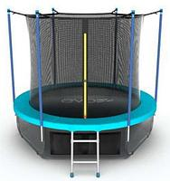 Батут EVO Jump Internal 6ft + Lower net (Синий), фото 1