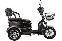 Электроскутер трицикл Green City S2 V2 трансформер (Зеленый)