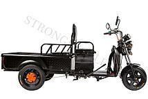 Грузовой электрический трицикл RuTrike D1 1200 60V 900W (Серый)