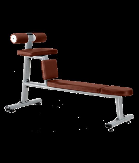 Скамья для скручивания горизонтальная Bronze Gym J-035