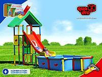 Детский игровой комплекс Universal + PoolLarge + ModularSlide, фото 1