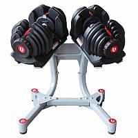 Гантели 40 кг Optima Fitness с подставкой (комплект), фото 1